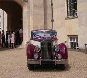 1955 Rolls Royce Silver Wraith in London
